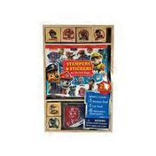 Bendon Paw Patrol Wooden Stampers & Stickers Activity Pad