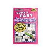 Penny Press Favorite Easy Crosswords Magazine