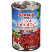Stater Bros. Markets Fire Roasted Diced Tomatoes with Garlic