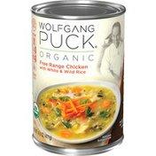 Wolfgang Puck® Organic Free Range Chicken with White & Wild Rice Soup