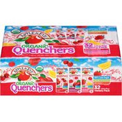 Apple & Eve Organic Quenchers Fruit Punch Burst/Razzberry Apple Splash/Berrylicious Lemonade Variety Pack Juice Beverage