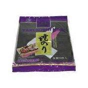 Kaitatuya Green Yaki Sushi Nori Roasted Seaweed Sheets