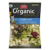 Fresh Express Salad Kit, Organic, Sunflower Ranch, Chopped