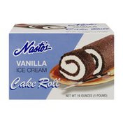 Nasto's Ice Cream Co. Nasto's Ice Cream Cake Roll Vanilla