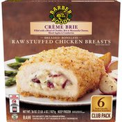 Barber Foods Creme Brie Stuffed Chicken Breast