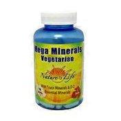 Nature's Life Vegetarian Mega Minerals