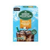 Green Mountain Coffee Roasters Brew Over Ice Hazelnut Cream K-Cup Pods
