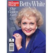 Woman's World Magazine, Betty White, May 2021