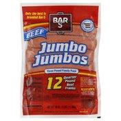 Bar-S Quarter Pound Beef Jumbo Jumbos Beef Franks
