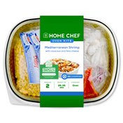 Home Chef Oven Kit Mediterranean Shrimp With Couscous And Feta Cheese