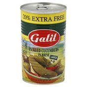 Galil Pickled Cucumbers, in Brine, Large