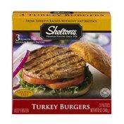 Shelton's Turkey Burgers - 3 CT