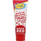 Crayola Soap, Bathtub, Radical Red