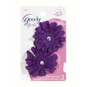 Goody Girls Miss Priss Snap Clips - 2 CT