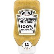 Heinz 100% Natural Spicy Brown Mustard