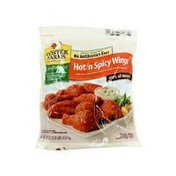 Foster Farms Hot'n Spicy Chicken Wings, Fat Free