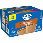 Kellogg's Pop-Tarts Toaster Pastries, Breakfast Foods, Baked in the USA, Frosted Brown Sugar