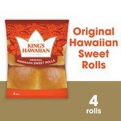 King's Hawaiian Original Hawaiian Sweet Rolls 4PK