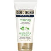 Gold Bond Skin Therapy Cream, Restoring, Green Tea & Vitamin C, Light Fresh Scent