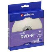 Verbatim DVD+R, 10 Pack