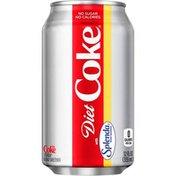 Diet Coke Sweetened With Splenda Soda Soft Drink