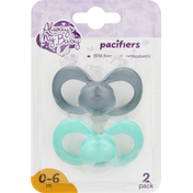 Always My Baby Pacifiers, 0-6 Months, 2 Pack