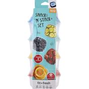 Fit & Fresh Snack N' Stack Set