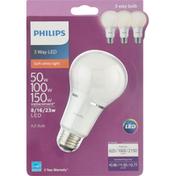Philips Light Bulb, LED, 3 Way, Soft White, 8/16/23 Watts
