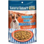 Natural Balance Turkey Mini-meatballs Gourmet Treats For Dogs