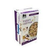 Food Lion Oatmeal, Instant, Raisins & Spice