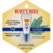 Burt's Bees Cold Sore Treatment, Rapid Rescue