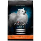 Purina Pro Plan Focus Chicken & Rice Formula Senior Dog Food