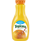 Tropicana 100% Juice, Orange, No Pulp