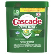 Cascade Dishwasher Detergent Actionpacs, Fresh Scent