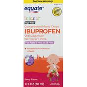 Equate Ibuprofen, Infants, Berry Flavor