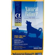 Natural Balance Chicken, Turkey Meal & Duck Formula, Dog Food