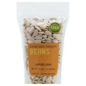 Zursun Beans, Idaho Heirloom, Large Lima