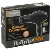 BaBylissPRO Hair Dryer, Ceramic, 2000 Watt