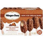 Haagen-Dazs Coffee Almond Crunch Mini Ice Cream Bars