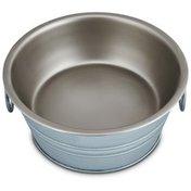 Harmony Galvanized Dog Bowl Medium