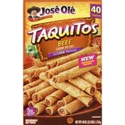José Olé Taquitos, in Corn Tortillas, Beef