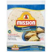 Mission Tortillas, Flour, Caseras