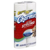 Charmin Bathroom Tissue, Unscented, Double Rolls, 2-Ply