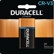 Duracell Battery, Lithium, 3 V, CR-V3