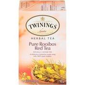 Twinings Pure Rooibos Red Herbal Tea Bags