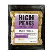High Peaks Wild Mushroom Plant-based Sausage