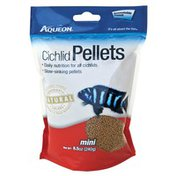 Aqueon Mini Pellet Cichlid Food