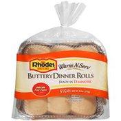 Rhodes Bake-N-Serv Buttery Dinner 9 Ct Rolls