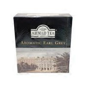 Ahmad Tea Aromatic Earl Grey Tagged Teabags