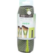 EcoTools Brush Kit, Travel and Glow